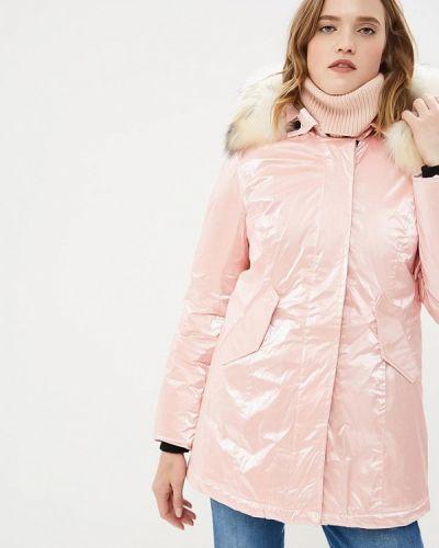 Зимняя куртка осенняя розовая Freedomday