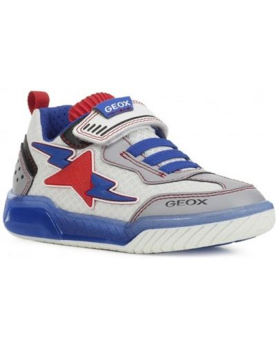 Баскетбольные кожаные кроссовки на шнуровке Geox