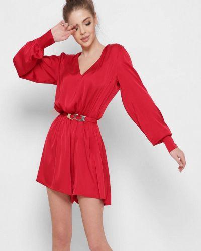 Комбинезон с шортами - красный Carica&x-woyz