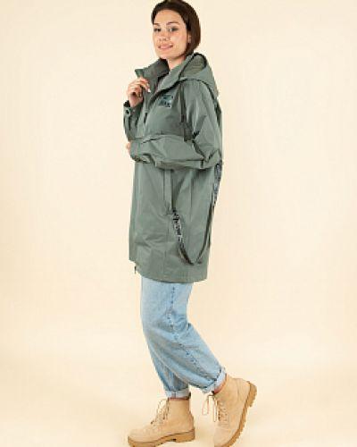 Зеленая демисезонная куртка каляев