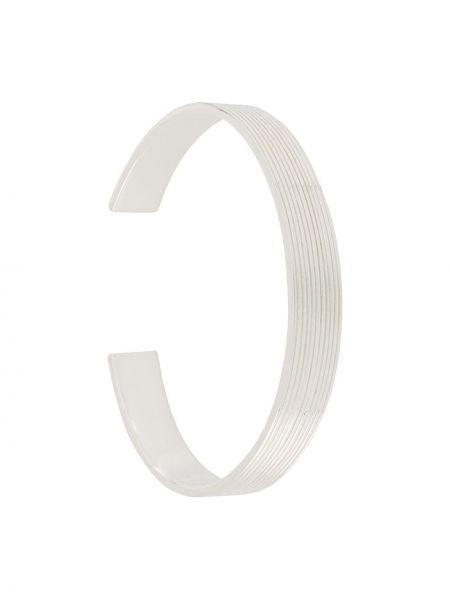 Prążkowana bransoletka srebrna Isabel Lennse