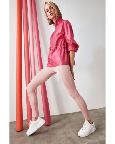 Rajstopy - różowe Trendyol