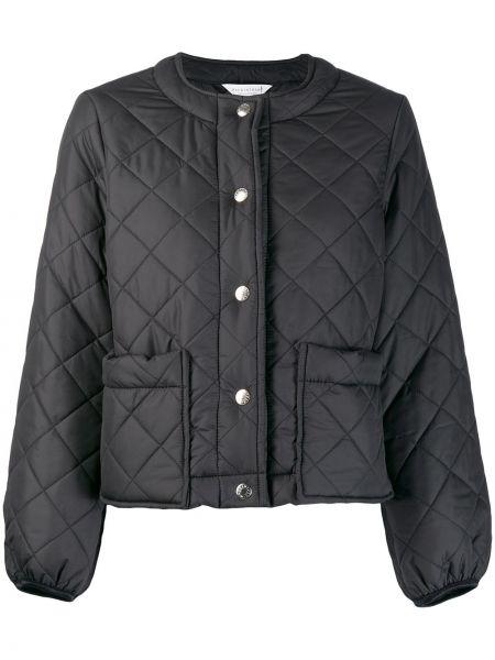 Черная куртка с манжетами на пуговицах Mackintosh