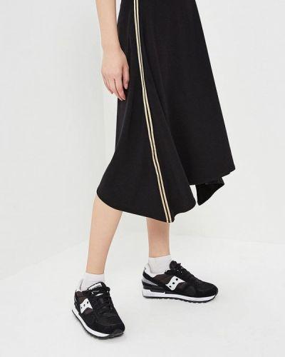 Черная юбка Luhta