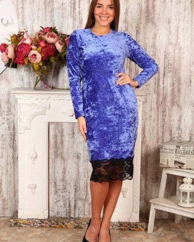 Велюровое платье Грандсток