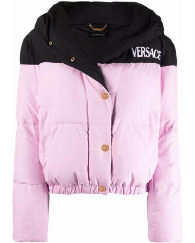 Черная куртка классическая Versace