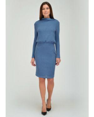 Платье с поясом платье-сарафан с воротником Viserdi