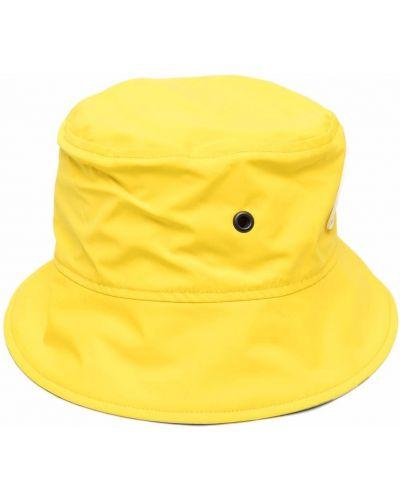 Żółty kapelusz z printem Y/project