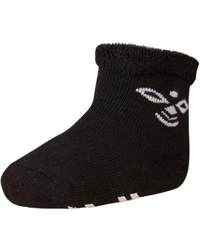 Czarne skarpety bawełniane Hummel