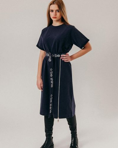 Платье - серое Street Style