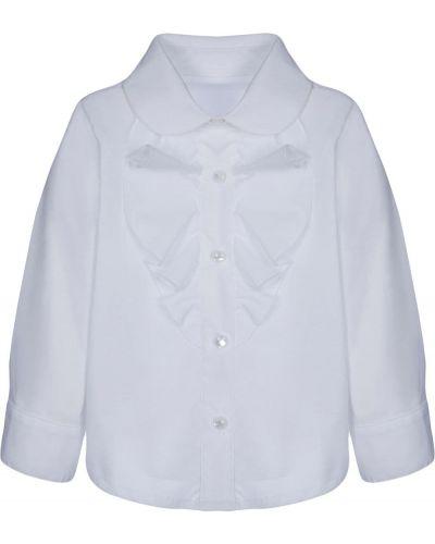Хлопковая белая рубашка с длинными рукавами Lapin House