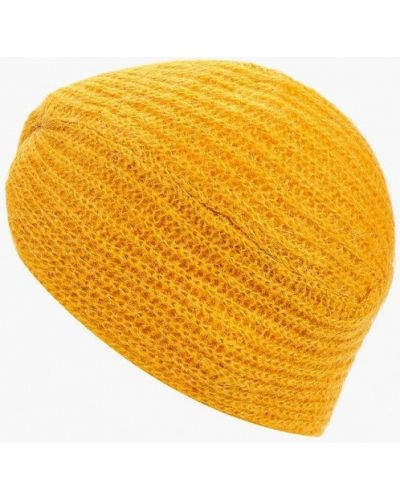 Желтая шапка осенняя United Colors Of Benetton
