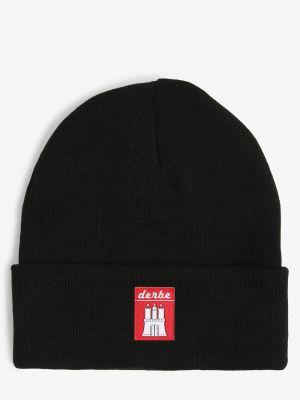 Czarna czapka Derbe