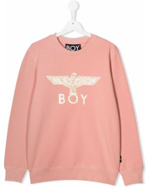 Розовый топ узкого кроя Boy London Kids