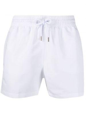 Białe krótkie szorty bawełniane na co dzień Frescobol Carioca