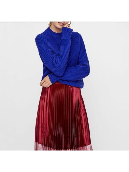Пуловер с воротником-стойкой акриловый Y.a.s.
