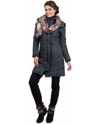 Пальто с капюшоном длинное свободное Pezzo