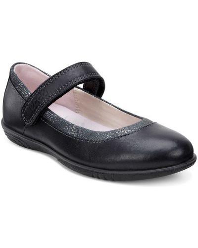 Школьные туфли текстильные на каблуке Ecco