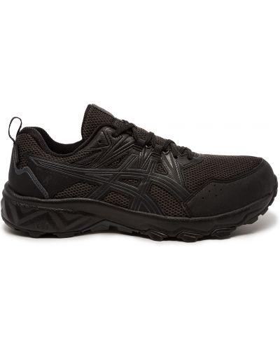 Водонепроницаемые черные кроссовки Asics