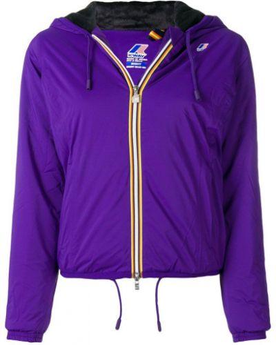 Фиолетовая куртка K-way