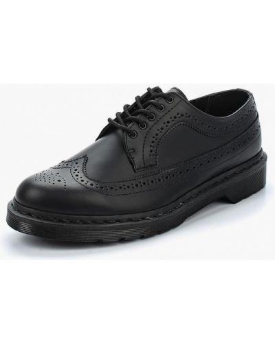Ботинки осенние кожаные черные Dr Martens