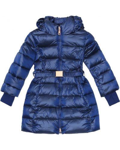 Синее пальто Monnalisa