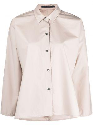 Хлопковая классическая рубашка с воротником на пуговицах Sofie D'hoore