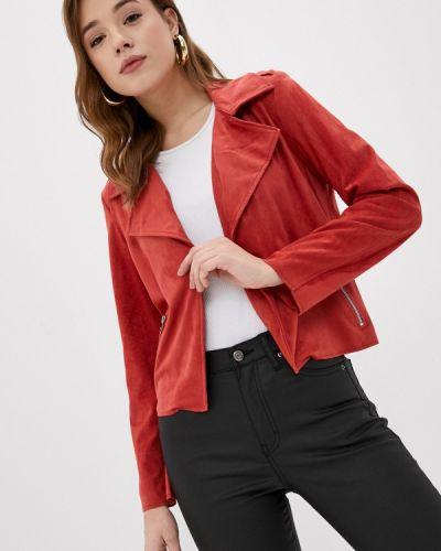 Кожаная куртка - красная Pimkie