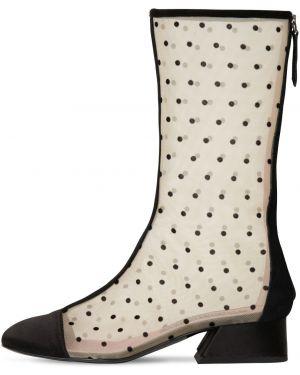 Сапоги без каблука с квадратным носком Les Petits Joueurs
