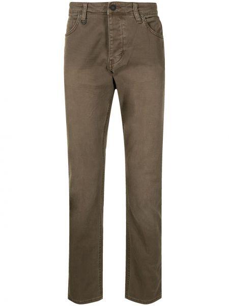 Klasyczne mom jeans - brązowe Neuw
