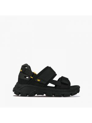 Черные кроссовки Caterpillar