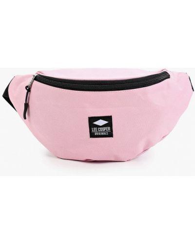 Розовая поясная сумка Lee Cooper