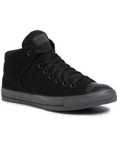 Czarny wysoki trampki Converse