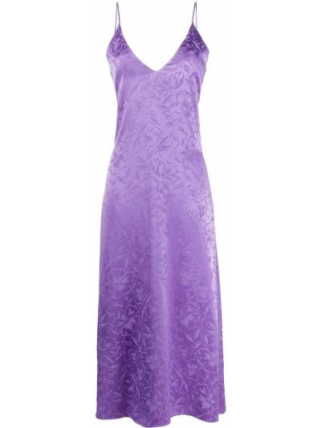 Платье на бретелях Msgm