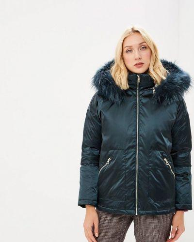 Зимняя куртка осенняя бирюзовый Conso Wear