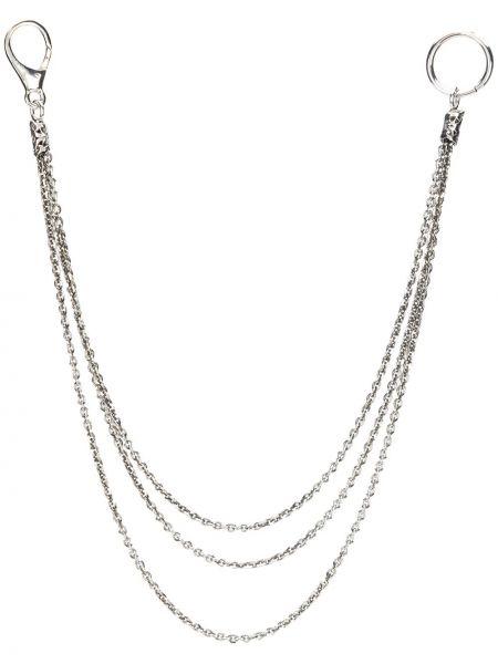 Серебряная цепочка металлическая Emanuele Bicocchi