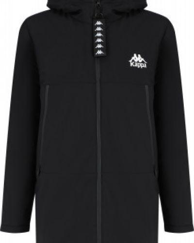 Черная теплая куртка Kappa