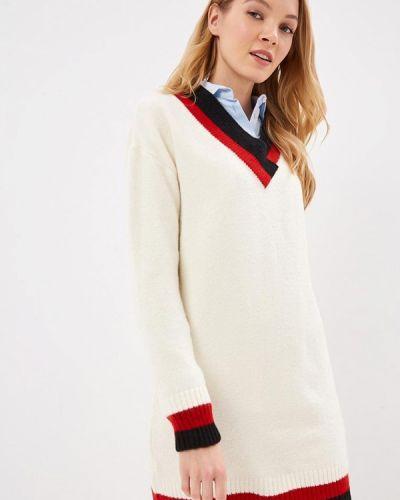 Пуловер турецкий белый Giorgio Di Mare