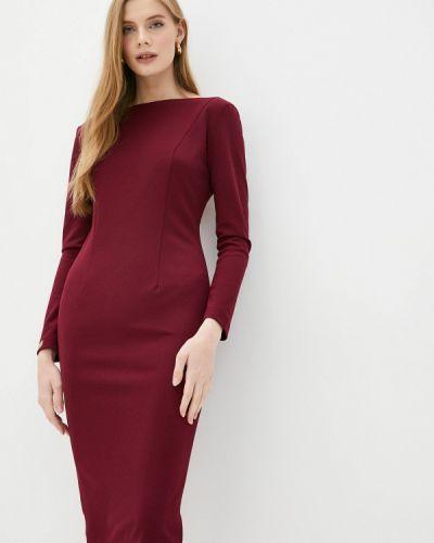 Красное платье-футляр Royal Elegance