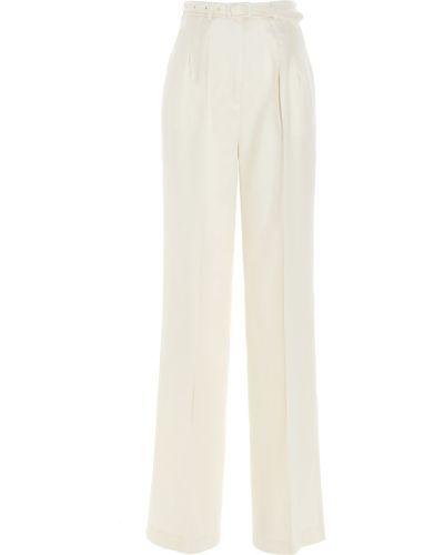 Białe spodnie Gabriela Hearst
