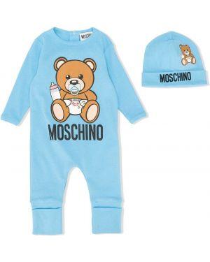 Комбинезон классический синий Moschino Kids