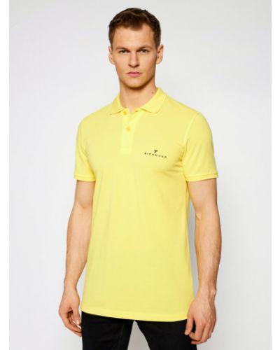 Żółte polo John Richmond