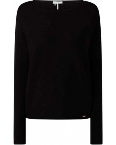 Sweter bawełniany - czarny Cinque