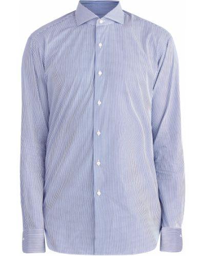 Классическая рубашка с длинным рукавом с принтом Enrico Mandelli