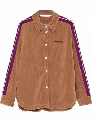 Klasyczna koszula - fioletowa Palm Angels