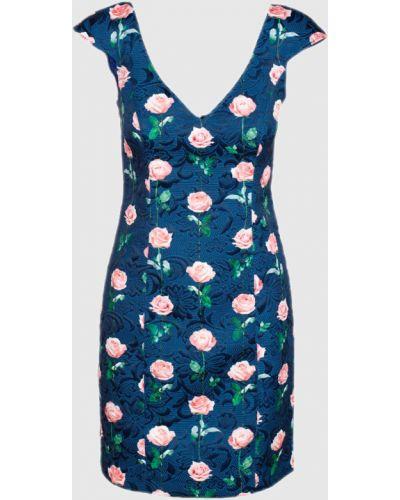 Синее платье мини Tresophie