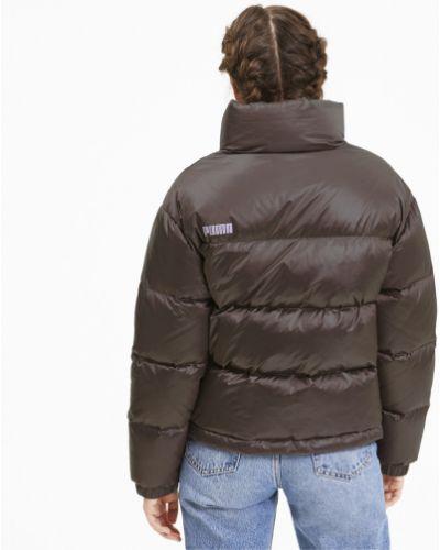 Розовая зимняя куртка Puma