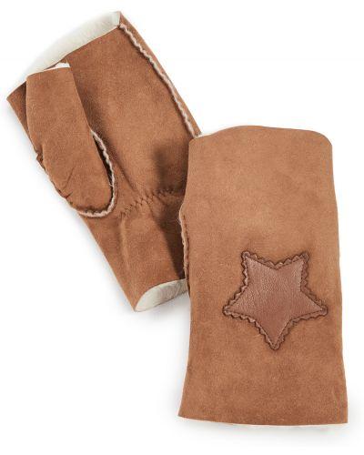 Rękawiczki bez palców skorzane Agnelle