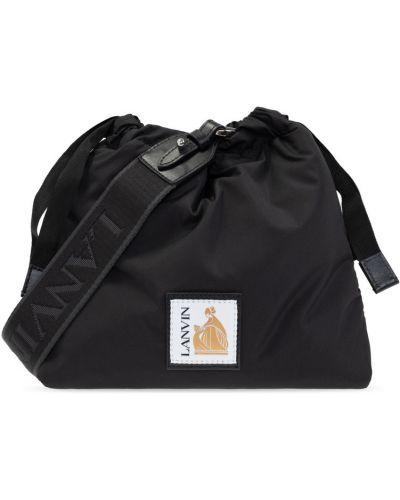 Czarna torba Lanvin
