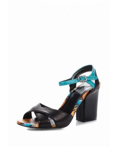 Черные босоножки на каблуке Blizzarini